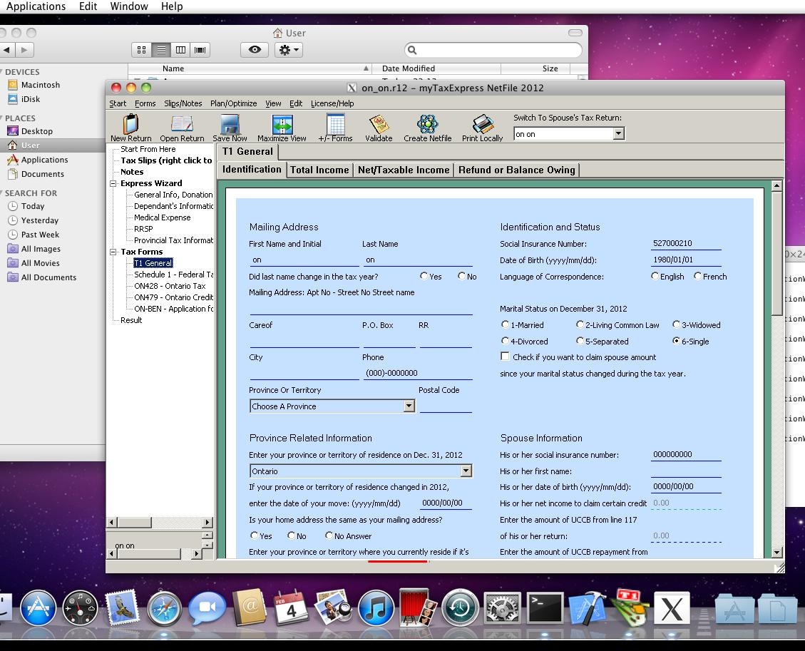 t2 tax return software mac